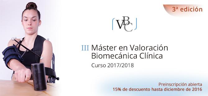 Máster en Valoración Biomecánica Clínica 3ª Edición