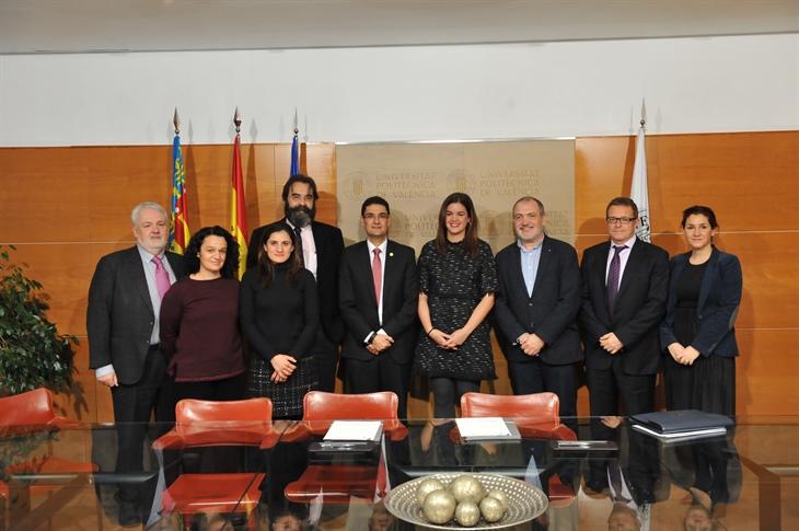 La Universitat Politècnica de València y la Fundación Turismo Valencia firman un convenio para promocionar Valencia como destino de reuniones y congresos