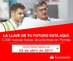 Resolución provisional 2016-2017 de las Becas Santander CRUE CEPYME Prácticas en Empresa
